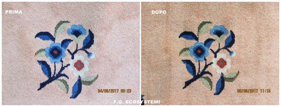 Lavaggio tappeto cinese