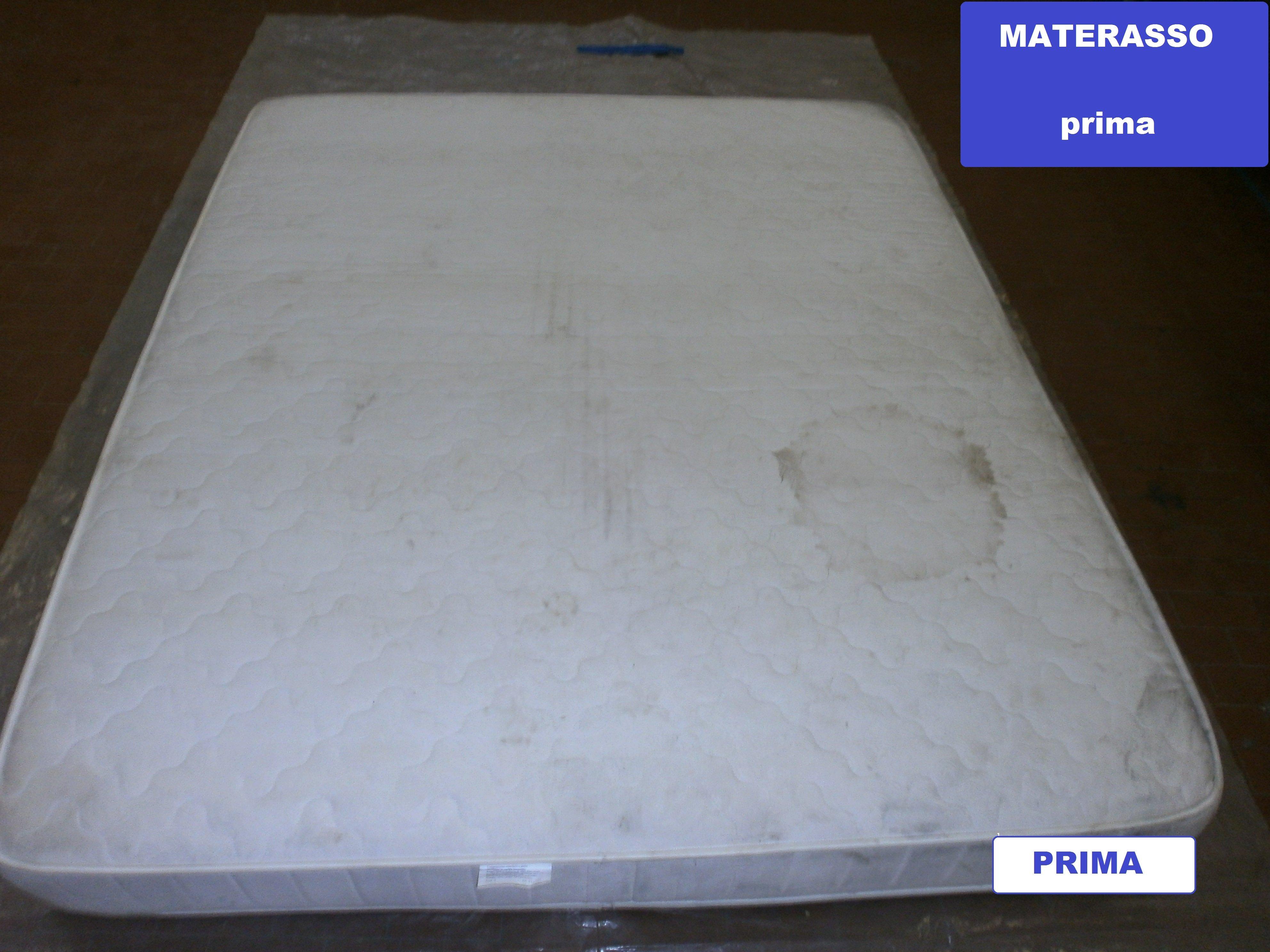 macchia sul materasso